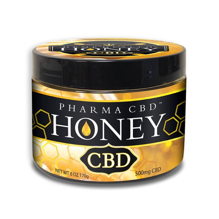 500MG Hemp CBD Honey by Hemp Health Inc.