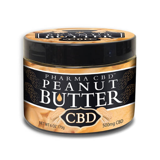 500MG Hemp CBD Peanut Butter by Hemp Health Inc.
