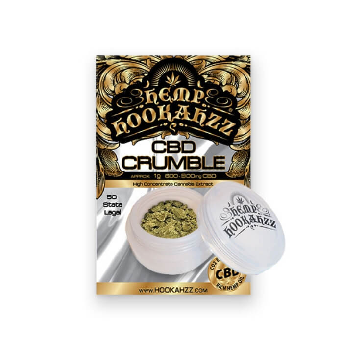 600MG CBD Concentrate Crumble by Hemp Hookahzz