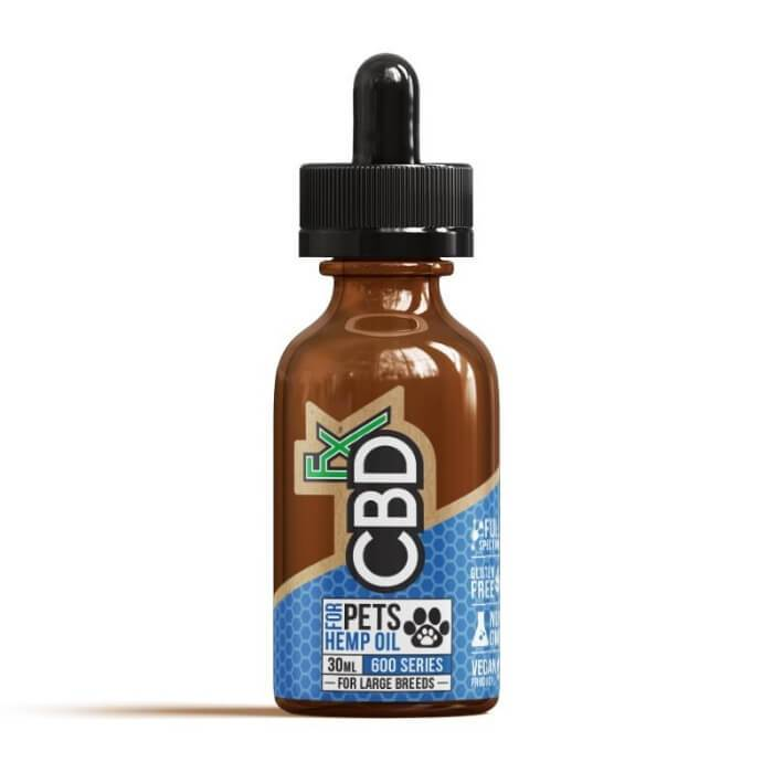 600MG Pet CBD Oil (Large Breed) by CBDfx