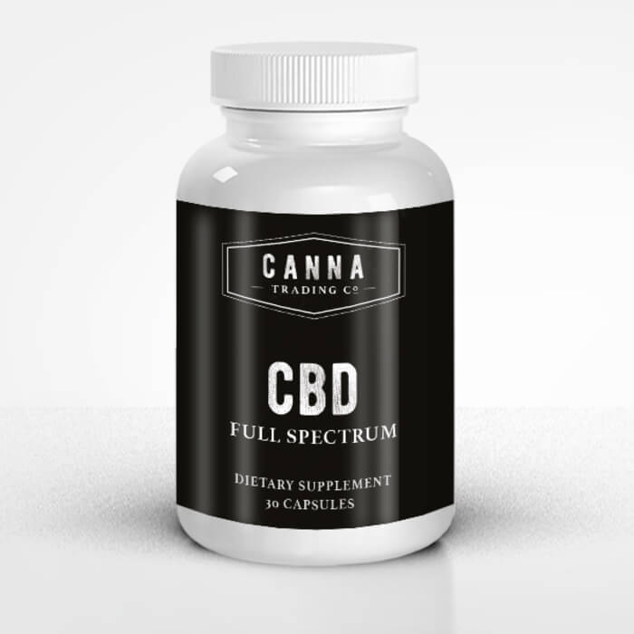 CBD Capsules by Canna Trading Co.
