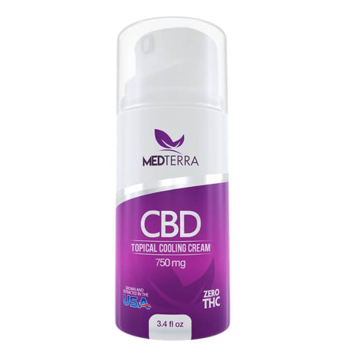 750MG CBD Topical Cooling Cream by Medterra