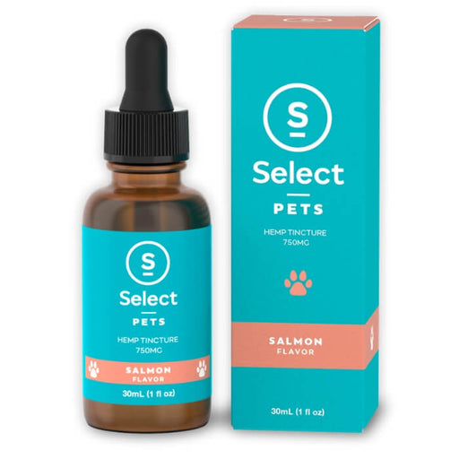 750MG Salmon Pets CBD Drops by Select CBD