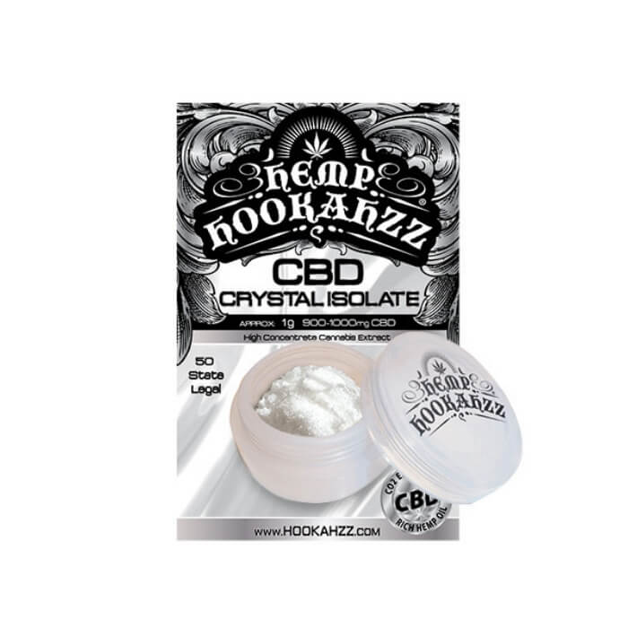 950MG CBD Powder Isolate by Hemp Hookahzz