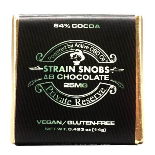 Active CBD Oil Strain Snobs Delta 8 Chocolate Squares