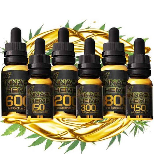 Pinnacle Hemp All In One CBD Tincture