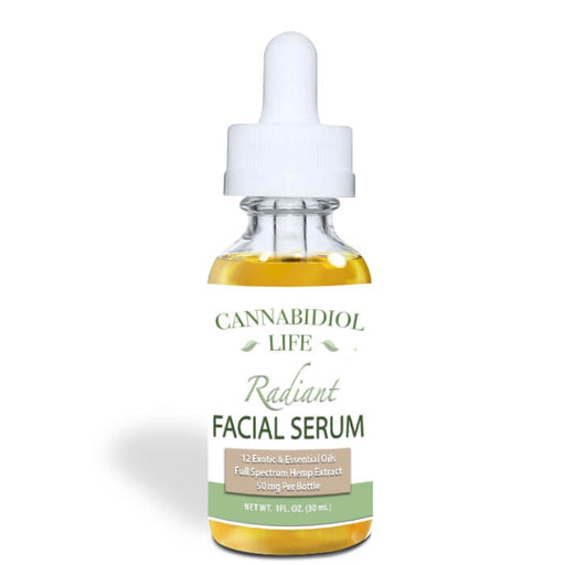 Anti-Aging CBD Facial Serum by Cannabidiol Life