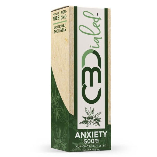 Anxiety Target CBD Tincture by CBDialed