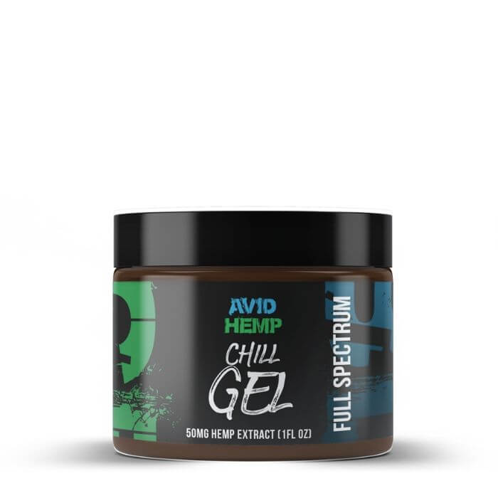 Avid Hemp CBD Chill Gel