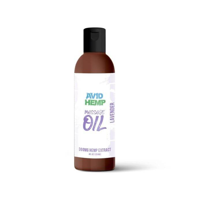 Avid Hemp CBD Massage Oil