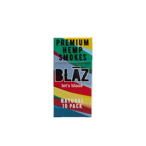 BLAZ CBD Natural Hemp Smoke (10pk Carton)