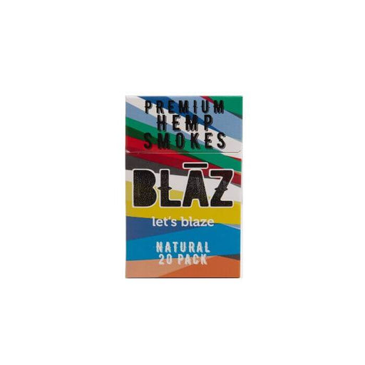 BLAZ CBD Natural Hemp Smoke (20pk Carton)