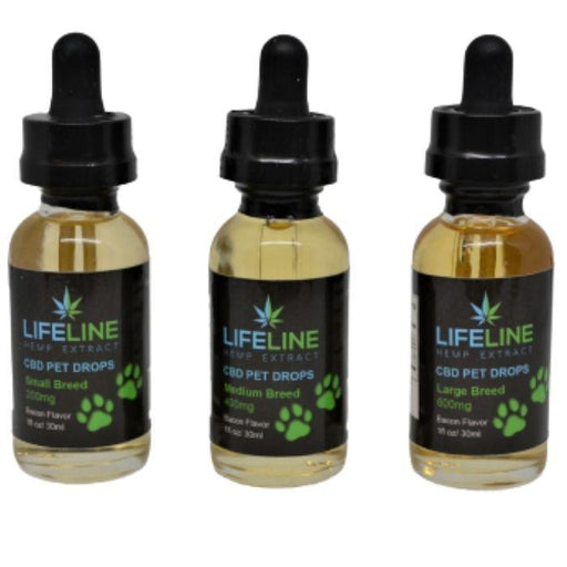 Bacon CBD Pet Drops by Lifeline Hemp Extract