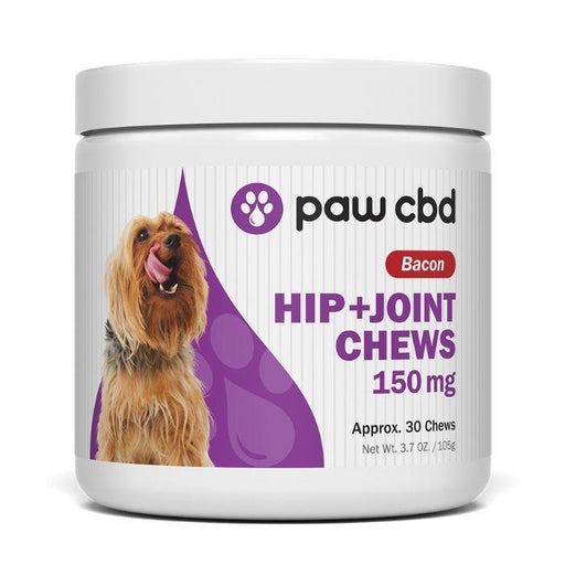 Bacon Soft Chews Hip & Joint CBD For Dogs by Paw CBD