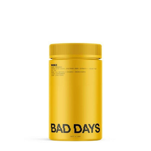 Bad Days CBD Broad Spectrum Woke Gummies + Green Tea