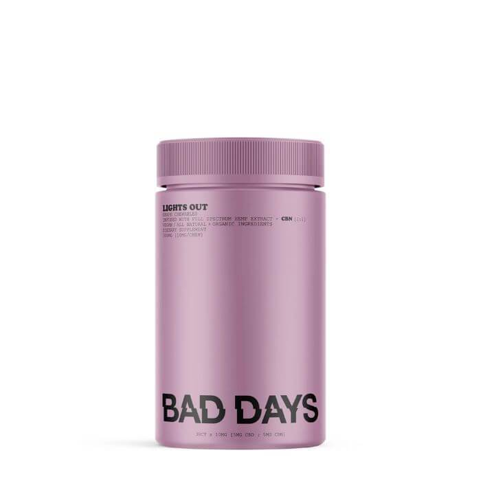 Bad Days CBD Full Spectrum Lights Out Gummies + CBN
