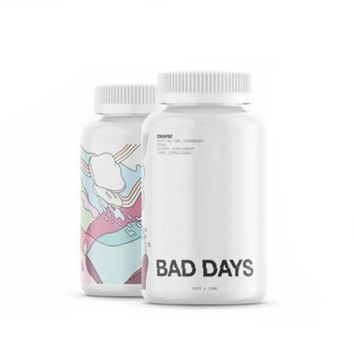 Bad Days CBD Vegan Tropical Gummies