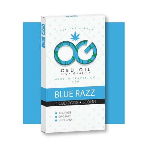 OG CBD Blue Razz Pods by OG Laboratories