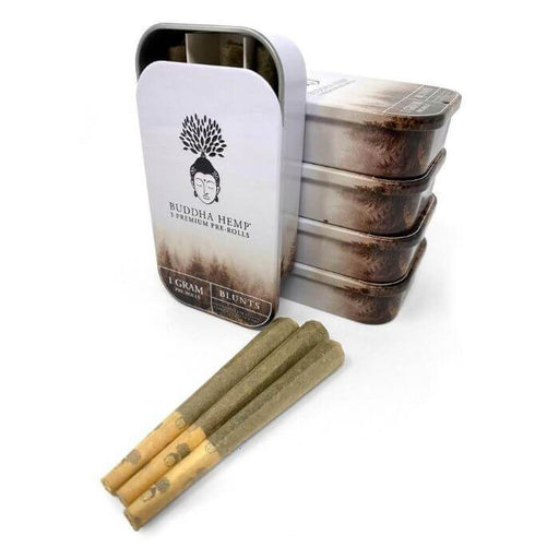 Buddha Hemp Blunt Tin Can PreRolls