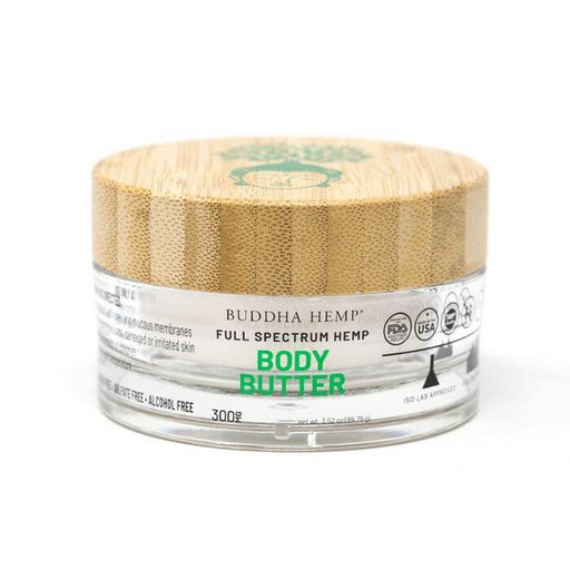 Buddha Hemp Full Spectrum Body Butter Cream