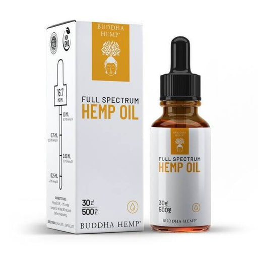 Buddha Hemp Full Spectrum Tincture