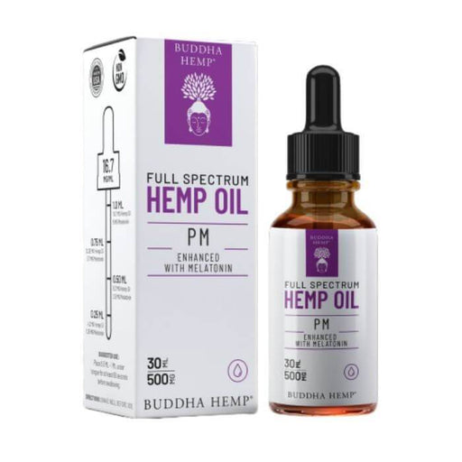 Buddha Hemp	Full Spectrum Hemp PM Tincture