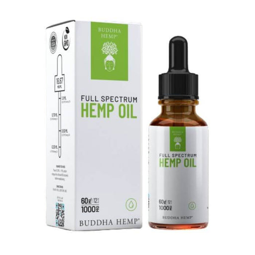 Buddha Hemp	Full Spectrum Hemp Tincture