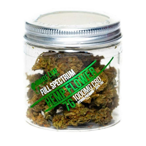 CBD Hemp Flower Jar by Miracle Leaf