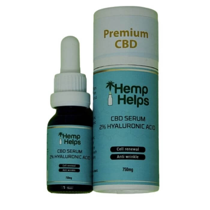 Hyaluronic Acid CBD Face Serum by CBD The Remedy