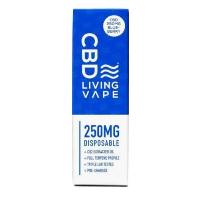 CBDLiving Blueberry Disposable Device