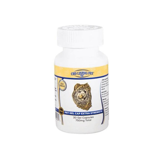 CBDLiving Extra Strength Pet Gel Capsules