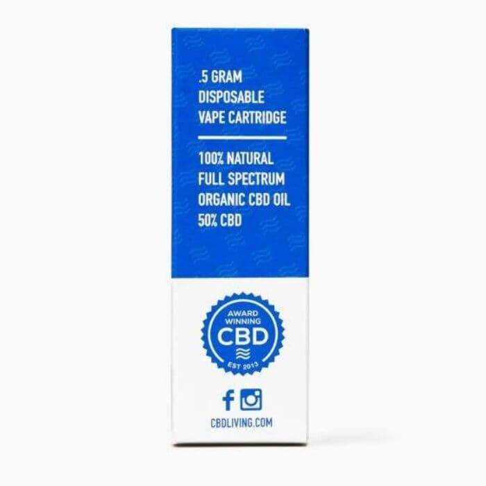 CBDLiving Sour Diesel Disposable Device