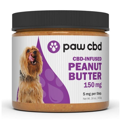 CBD Peanut Butter For Dogs by Paw CBD