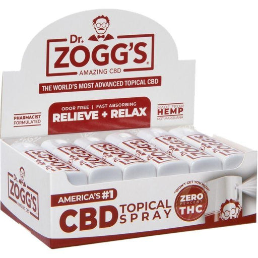 CBD Spray Display Box by Dr. Zogg's Amazing CBD