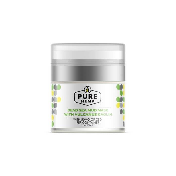 Pure Hemp CBD Dead Sea Mud Mask