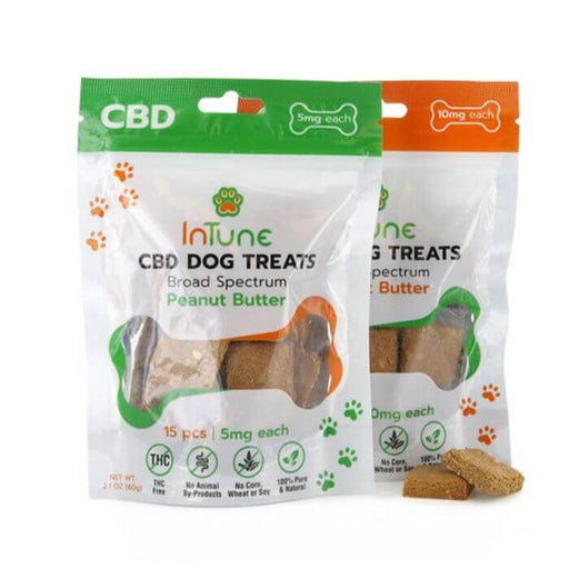InTune CBD Dog Treats
