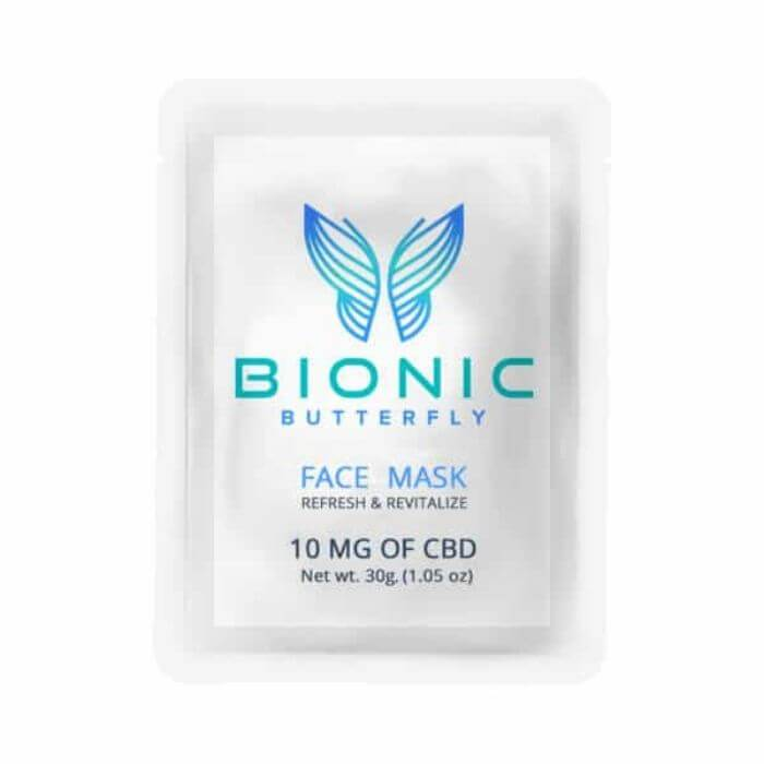 Bionic Butterfly CBD Face Mask