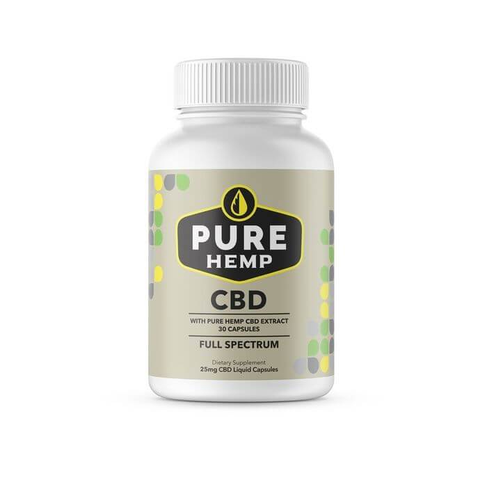 Pure Hemp CBD Full Spectrum Liquid Capsules