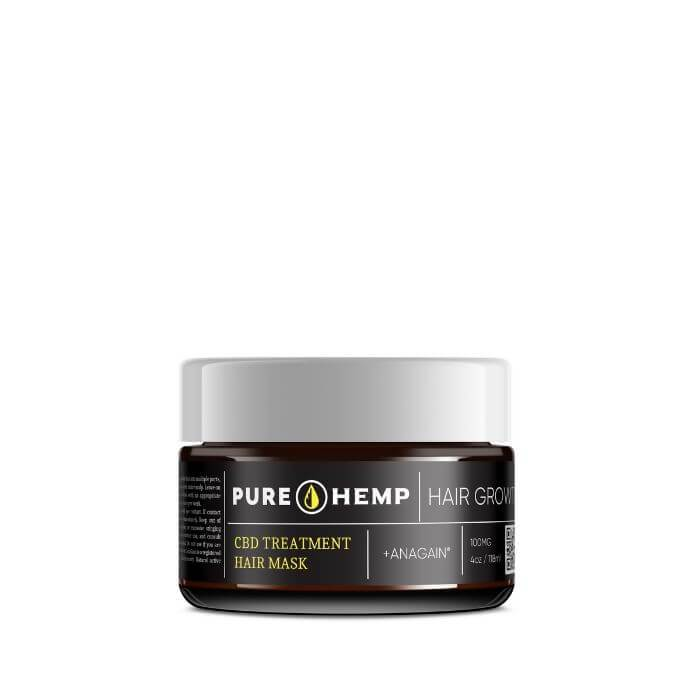 Pure Hemp CBD Hair Growth Treatment Mask