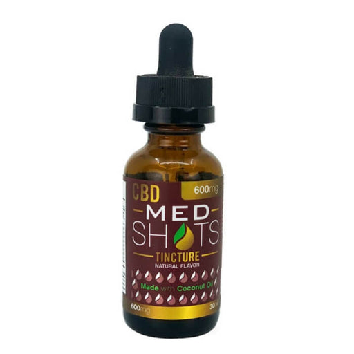 Fusion Brands CBD Med Shots With Coconut Oil
