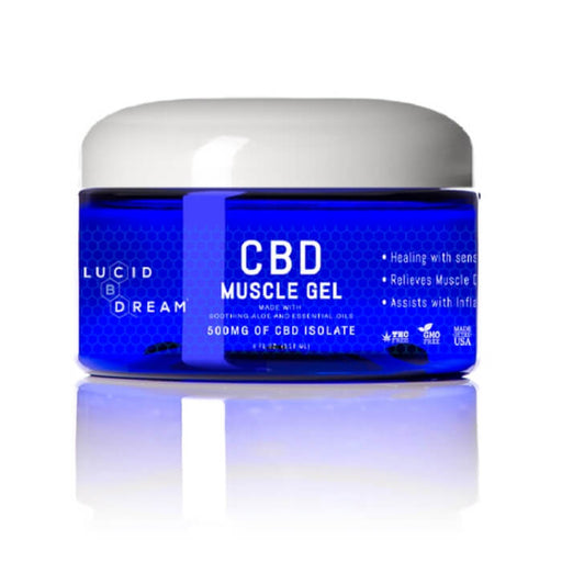 CBD Muscle Gel by Lucid Dream CBD