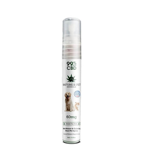 Nature's Pet Herbals CBD Oral Spray For Pet Anxiety