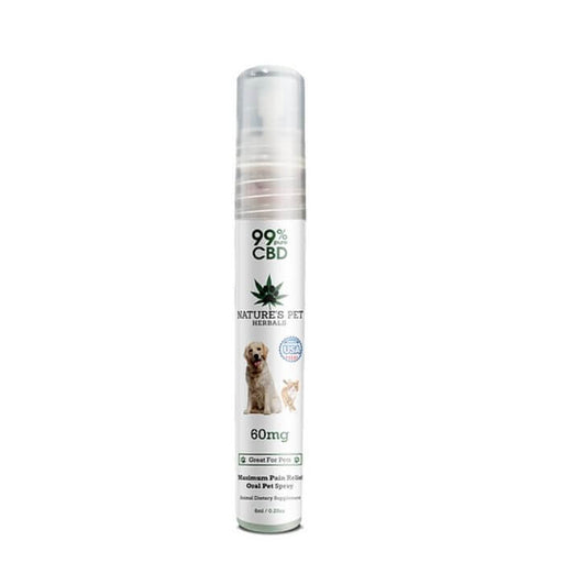 Nature's Pet Herbals CBD Pet Oil Spray For Pain Relief