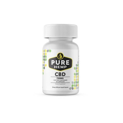Pure Hemp CBD Pure Isolate Liquid Capsules