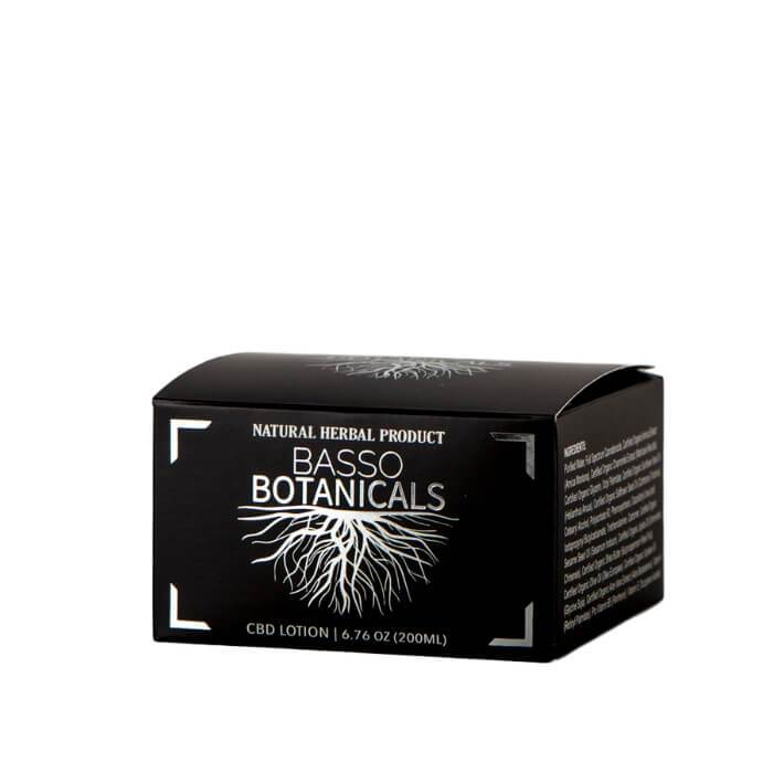 Basso Botanicals CBD Topical Body Cream