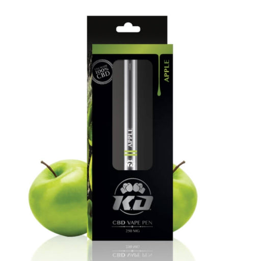 CBD Apple Disposable Vape Pen by Knockout CBD