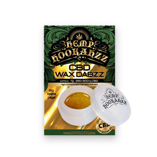 CBD Wax Dabs by Hemp Hookahzz