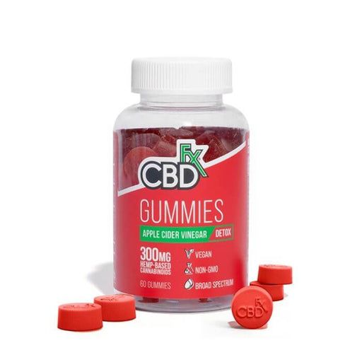 CBDfx Apple Cider Vinegar CBD Gummies