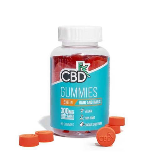 CBDfx Biotin Hair And Nail CBD Gummies