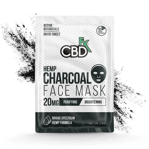 CBDfx Charcoal Hemp Face Mask